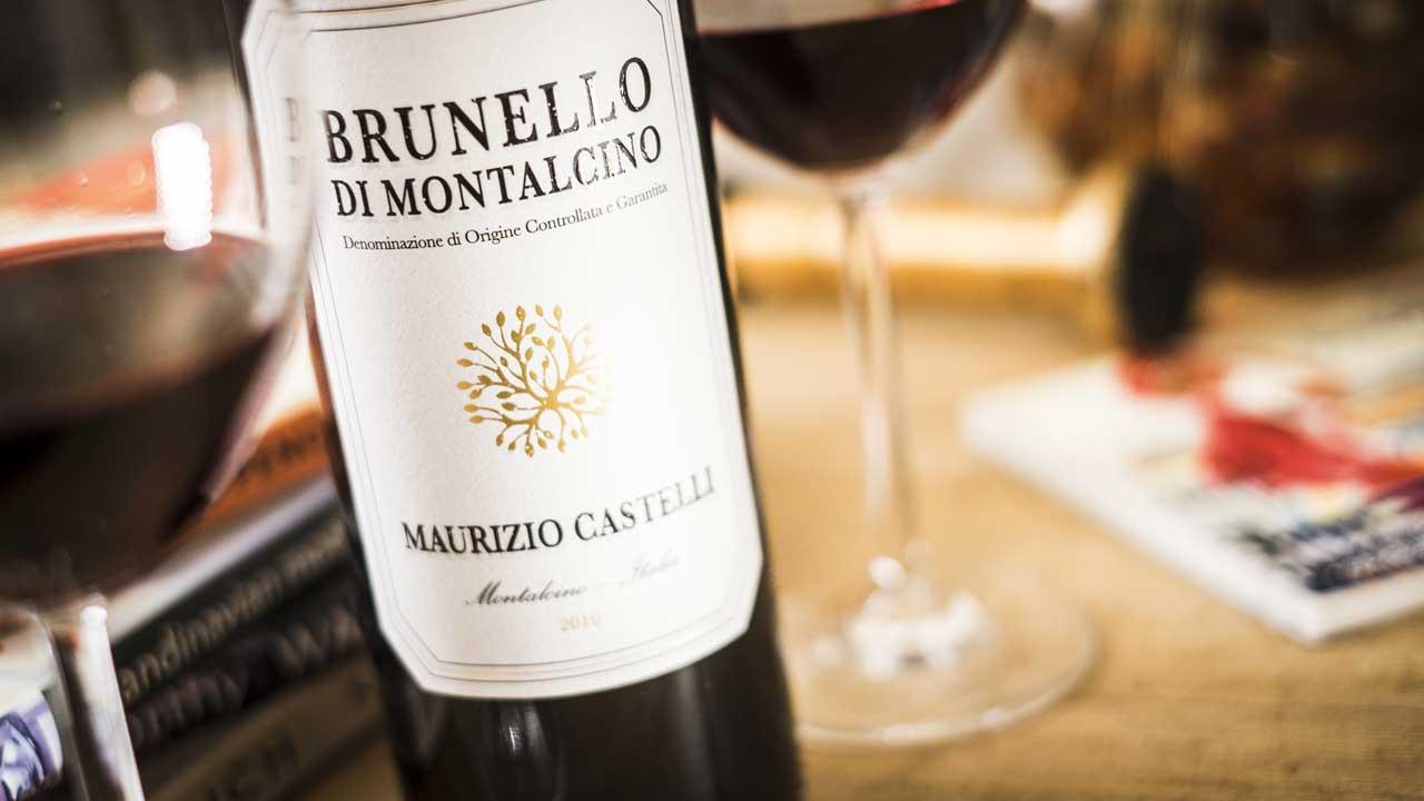 red wine maurizio castelli brunello di montalcino 2011. Black Bedroom Furniture Sets. Home Design Ideas